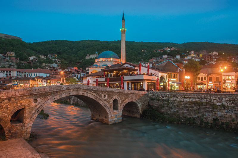 The Stonebridge in Prizren, Kosovo