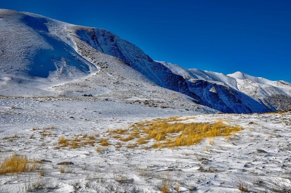 Galichica snow slopes