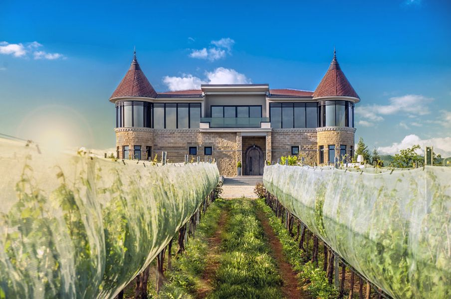 Kamnik winery, near Skopje, Macedonia