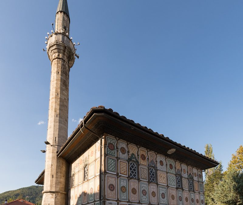 The Painted Mosque in Tetovo and its Minaret