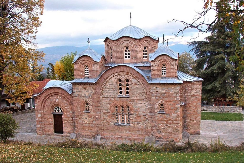 St. Panteleimon church in the village of Nerezi