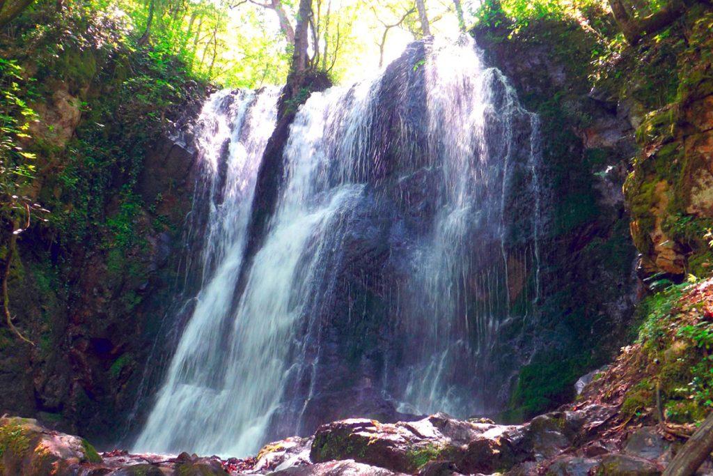 Koleshino waterfall, near Strumica, Macedonia