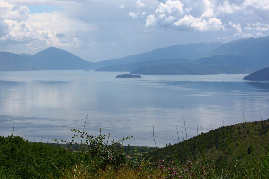 The Island of Golem grad in Lake Prespa