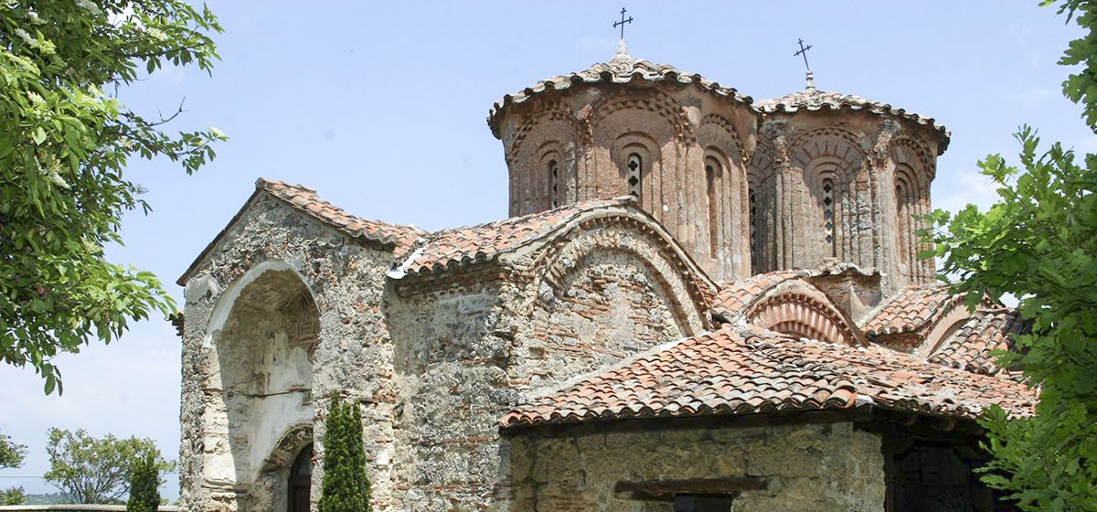 The Monastery of The Holy Mother of God, Eleusa in the village of Veljusa, Strumica, Macedonia