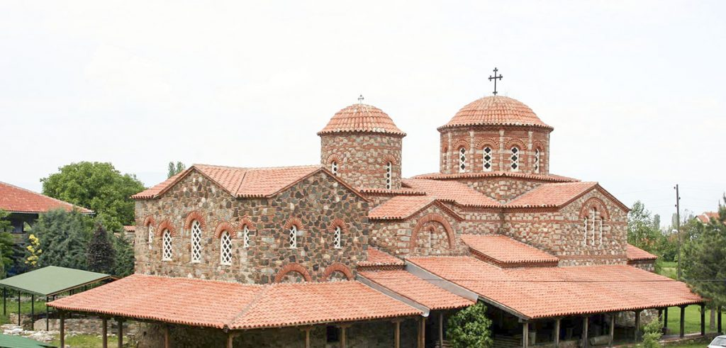 The church of St. Leontius in Vodocha, Strumica, Macedonia