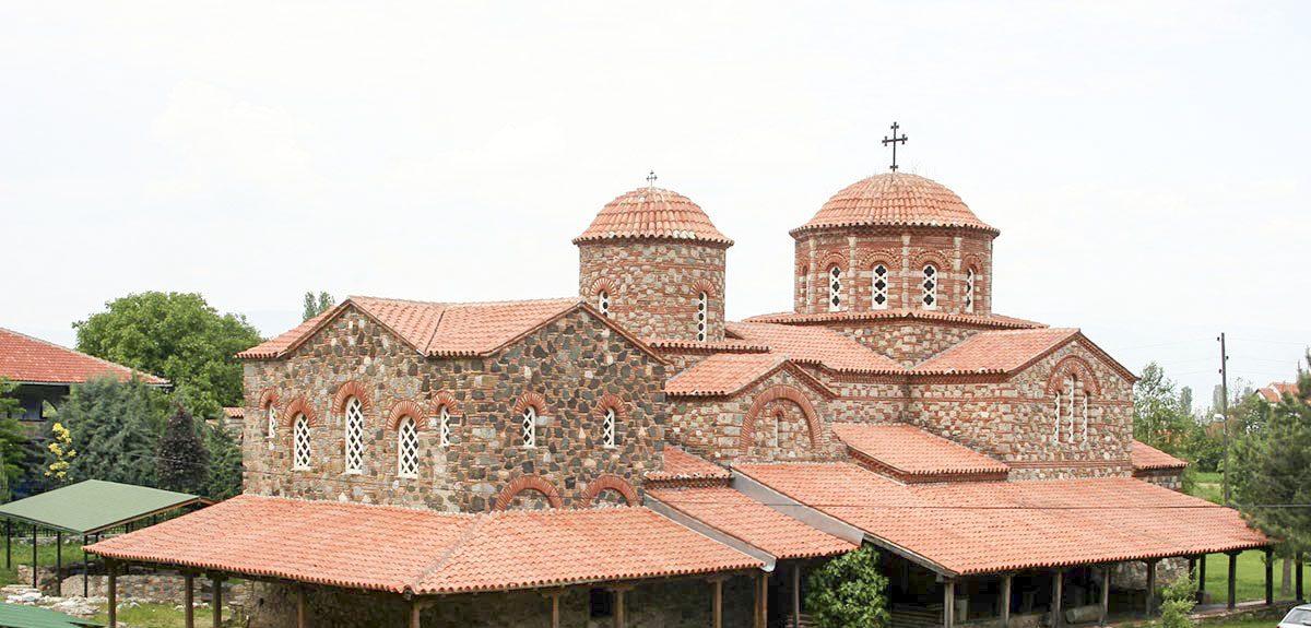 The church of St. Leontius in Vodocha, Strumica, Macedonia