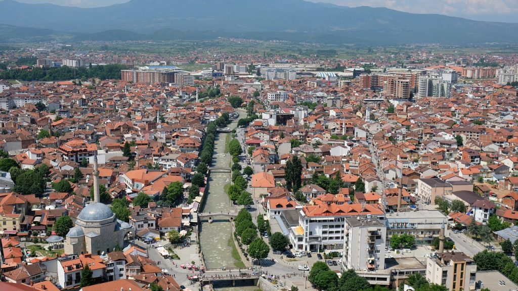 Panorama of Prizren