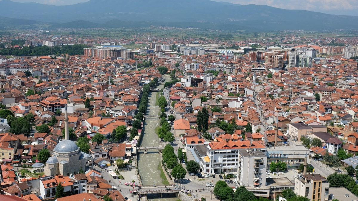 Panorama of Prizren