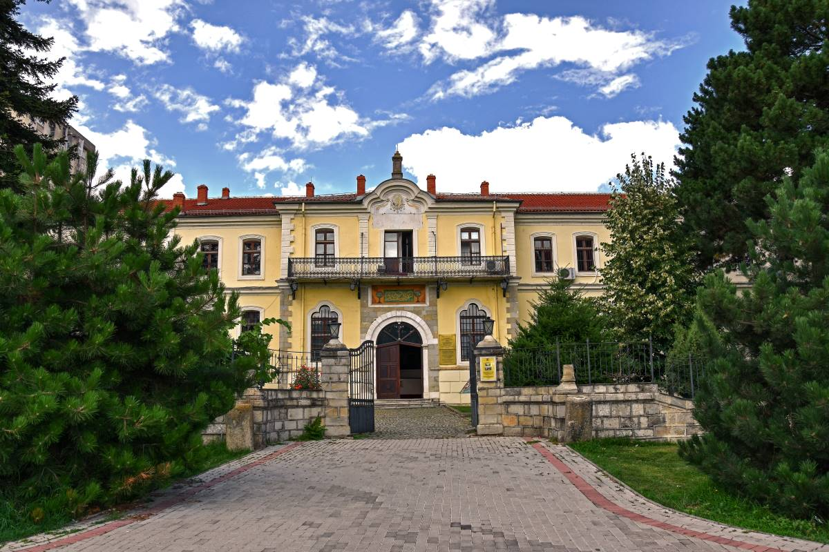Old architecture building in Bitola