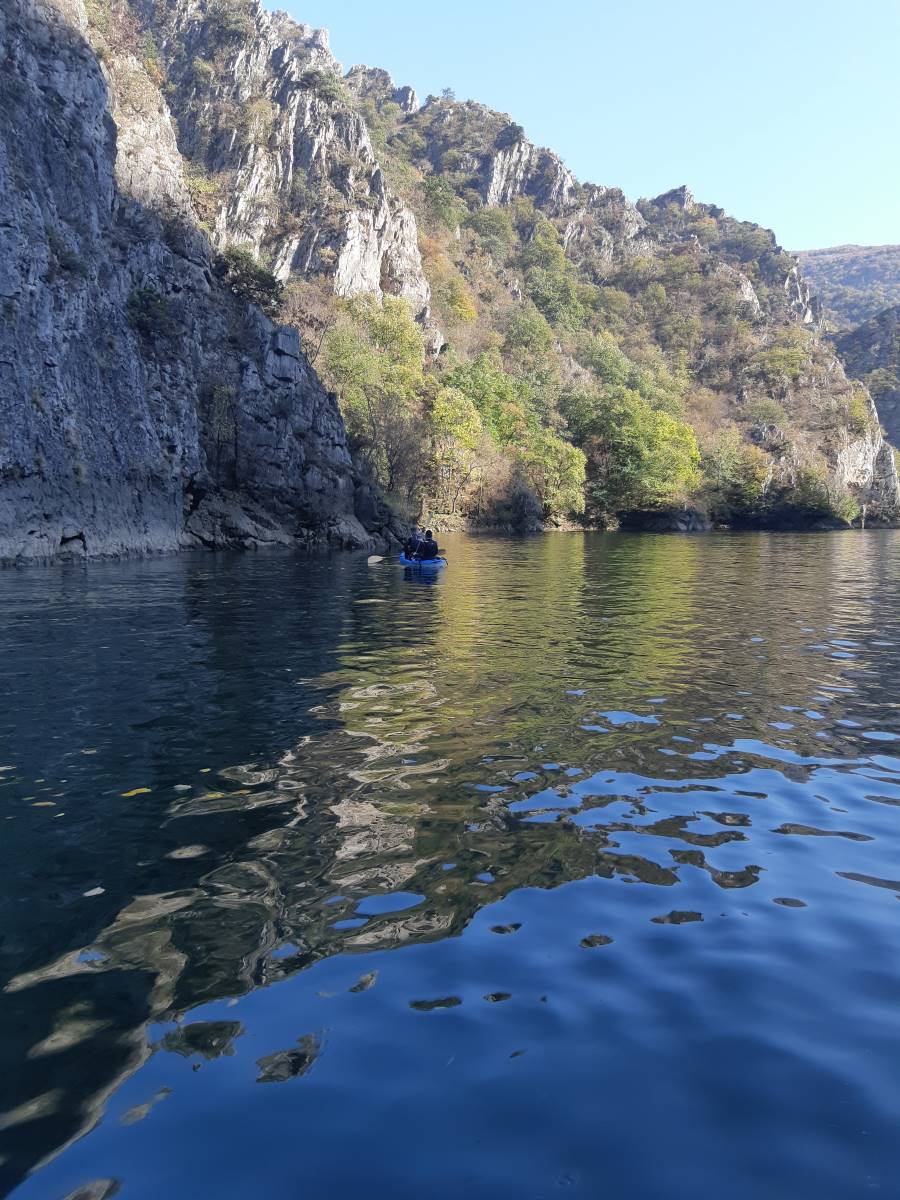 Matka canyon - kayaking
