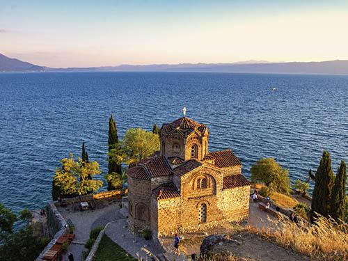 The church of St. John Kaneo, Ohrid