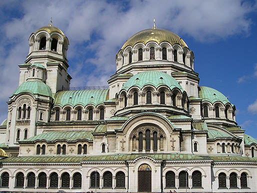 The church of St. Nedelya in Sofia, Bulgaria