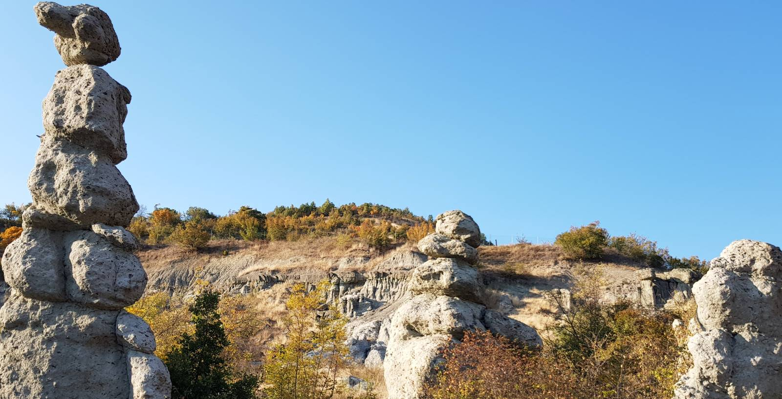 The stone dolls in Kuklici, near Kratovo, Macedonia